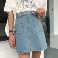 Популярные джинсовые юбки с Алиэкспресс - место 2 - фото 6