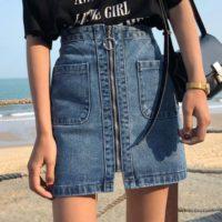 Популярные джинсовые юбки с Алиэкспресс - место 1 - фото 3