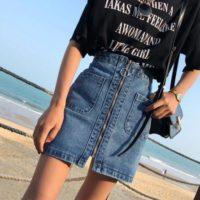 Популярные джинсовые юбки с Алиэкспресс - место 1 - фото 4