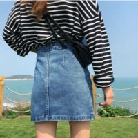 Популярные джинсовые юбки с Алиэкспресс - место 1 - фото 5