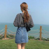 Популярные джинсовые юбки с Алиэкспресс - место 1 - фото 1