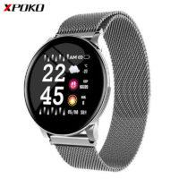 XPOKO S9 водонепроницаемые смарт-часы с датчиком сердечного ритма, кровяного давления и датчиками для сбора инфы по физической активности