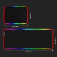RGB коврики для мыши с подсветкой с Алиэкспресс - место 4 - фото 5