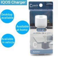 Зарядная станция / зарядное устройство / держатель для IQOS с USB кабелем и индикатором света