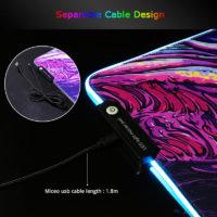 RGB коврики для мыши с подсветкой с Алиэкспресс - место 3 - фото 5