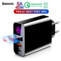 Зарядные устройства с поддержкой быстрой зарядки QC 4.0 с Алиэкспресс - место 3 - фото 1