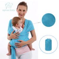 Слинг шарф намотка для новорожденных