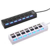 EASYIDEA USB хаб на 7 портов с возможностью отдельно отключать каждый порт