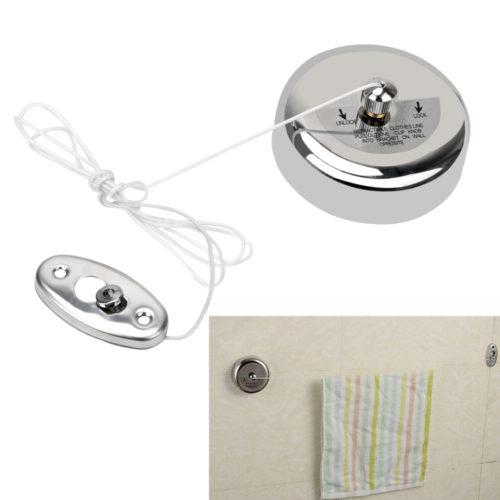 HOOMIN Выдвижная сушилка веревка для белья