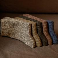 Теплые толстые мужские шерстяные носки