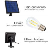 Уличные светильники на солнечных батареях с Алиэкспресс - место 4 - фото 4