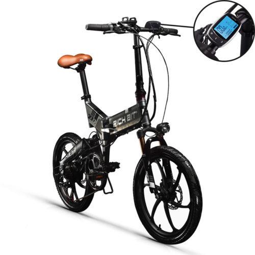 RichBit RT-730 48V складной электрический велосипед 7 скоростей 20″