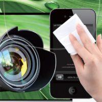 20 специальных влажных салфеток для протирки очков, смартфонов и оптики