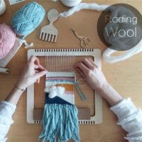 Деревянный многофункциональный ткацкий станок