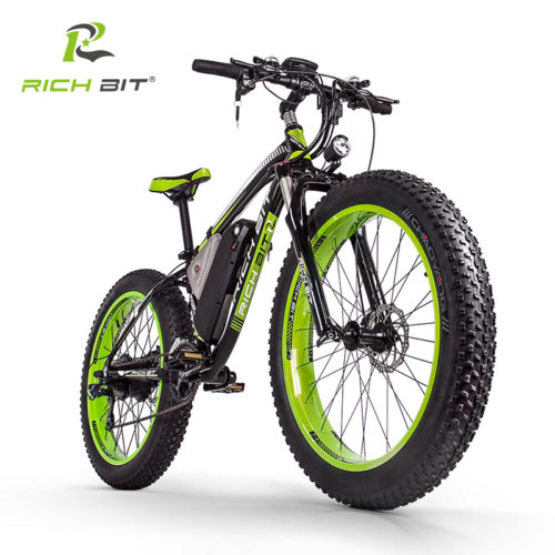 RichBit RT-012 Plus электрический велосипед 26″, 21 скорость
