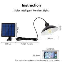 Уличные светильники на солнечных батареях с Алиэкспресс - место 4 - фото 5