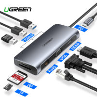 Ugreen USB хаб концентратор для MacBook