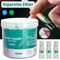 Сигаретные мундштуки, собирающие смолу для толстых сигарет