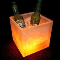Ведёрки для льда с подсветкой
