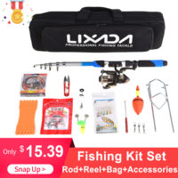 Lixada Рыболовный комплект