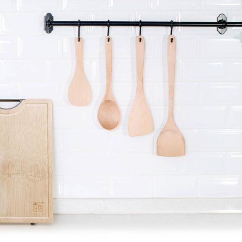 Xiaomi Yiwuyishi Набор кухонных лопаток из бука