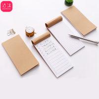 Карманный крафтовый бумажный блокнот для заметок и чек-листов