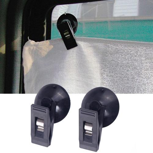 Прищепки для штор в автомобиль на присоске