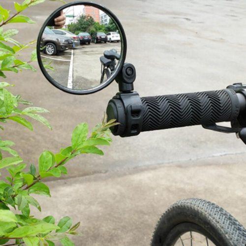 Зеркало заднего вида на руль велосипеда