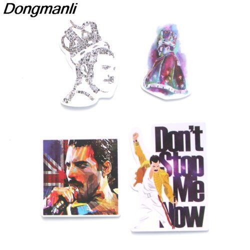 Набор наклеек стикеров с Freddie Mercury (Фредди Меркьюри) из Queen