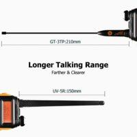 Baofeng GT-3TP MarkIII TP двухдиапазонная рация 1/4/8 ватт 136-174/400-520 МГц