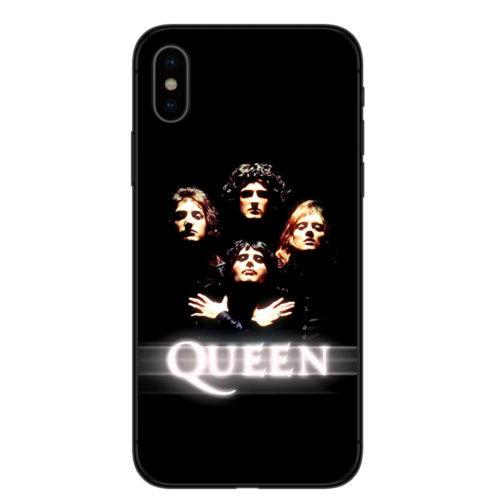 Чехол на айфон (iPhone) с Freddie Mercury (Фредди Меркьюри) из Queen