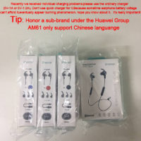 Беспроводные Bluetooth наушники с микрофоном Huawei Honor AM61