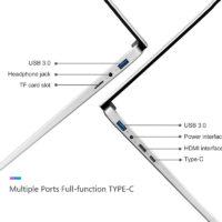 "Feed me 15,6 ""Intel Core I3 5005U игровой ноутбук с разблокировкой отпечатков пальцев"
