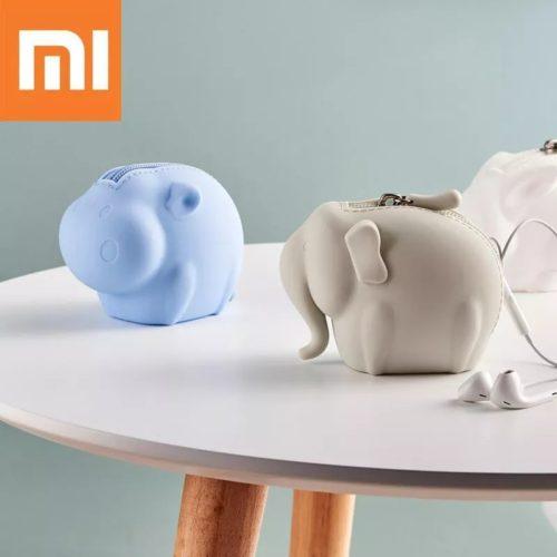 Xiaomi Jordan Judy Silicone Wallet силиконовый кошелек для монет в виде животных