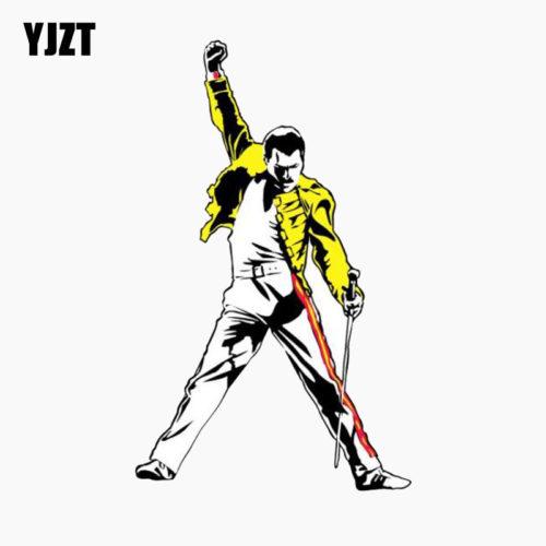 Светоотражающая наклейка на автомобиль с Freddie Mercury (Фредди Меркьюри) из Queen
