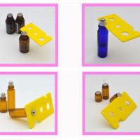 Открывашка для пластиковых пробок со стеклянных бутылочек (масла, лекарства, настойки)