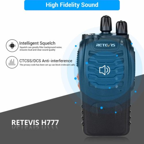 Retevis H777 Walkie Talkie двухсторонняя рация 3 Вт 2 шт.