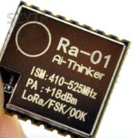 Приёмопередатчик большого радиуса действия (до 10 км) SX1278 с технологией LoRa