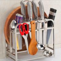 Стойка для ножей из нержавеющей стали