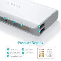 Портативные зарядные устройства power bank от ROMOSS с Алиэкспресс - место 4 - фото 3