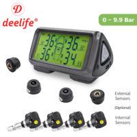 Deelife M62G система контроля давления в шинах на солнечной батарее