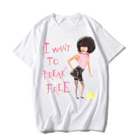 Футболка с надписью I want to Break free и изображением Freddie Mercury из Queen