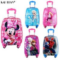 Детские чемоданы на колесиках с Алиэкспресс - место 4 - фото 1