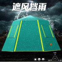 Шестиугольная автоматическая палатка-шатер