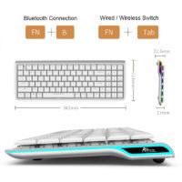 Беспроводные механические клавиатуры с Алиэкспресс - место 1 - фото 3