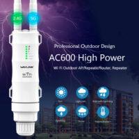 Wavlink AC600 Мощный уличный Wi-Fi роутер 2,4 / 5 ГГц