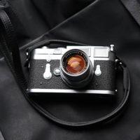Ремешок из натуральной кожи  для фотоаппарата или камеры