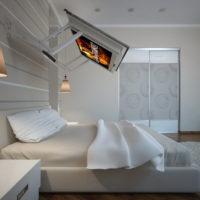 Кронштейн-трансформер RevolLED для телевизора диагональю 40-43 дюйма для установки над кроватью