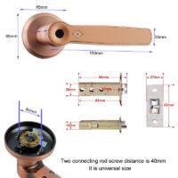 Биометрические замки с отпечатком пальца с Алиэкспресс - место 2 - фото 2