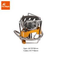 Fire Maple FWS-02 складная газовая горелка с откидными опорами, ветрозащитой и встроенной системой теплообмена